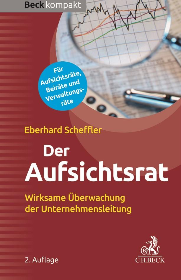 Der Aufsichtsrat | Scheffler | 2. Auflage, 2017 | Buch (Cover)