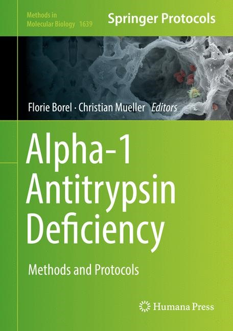 Alpha-1 Antitrypsin Deficiency | Borel / Mueller | 1st ed. 2017, 2017 | Buch (Cover)