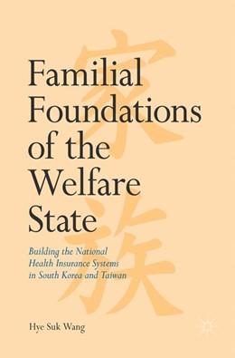 Abbildung von Wang | Familial Foundations of the Welfare State | 1. Auflage | 2017 | beck-shop.de