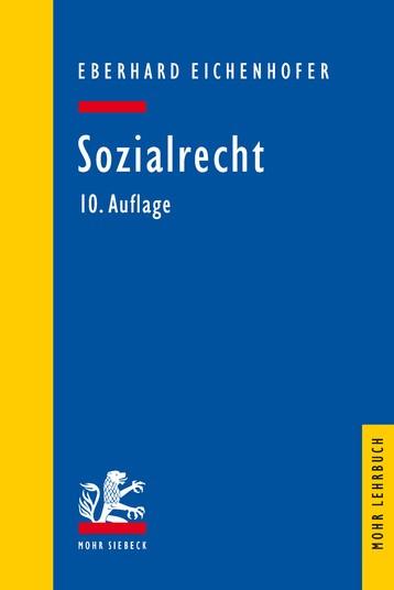 Sozialrecht | Eichenhofer | 10., neubearbeitete Auflage., 2017 | Buch (Cover)