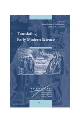 Abbildung von Fransen / Hodson / Enenkel | Translating Early Modern Science | 2017 | 51
