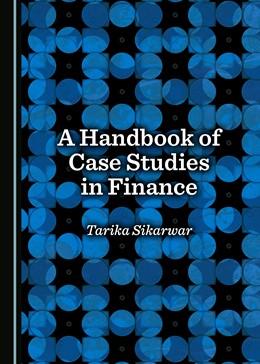 Abbildung von Singh   A Handbook of Case Studies in Finance   1. Auflage   2017   beck-shop.de