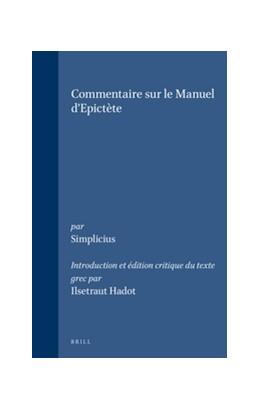 Abbildung von Hadot   Simplicius - Commentaire sur le Manuel d'Epictète   1995   66