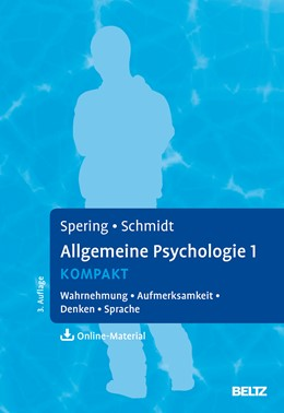 Abbildung von Spering / Schmidt | Allgemeine Psychologie 1 kompakt | 3. Auflage | 2017 | beck-shop.de