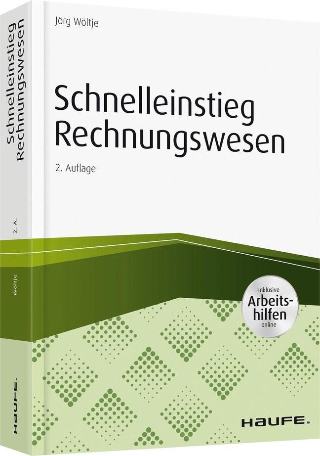 Schnelleinstieg Rechnungswesen | Wöltje | 2. Auflage, 2017 (Cover)