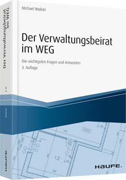 Abbildung von Wolicki | Der Verwaltungsbeirat im WEG | 3. Auflage | 2018
