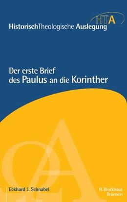 Abbildung von Maier / Neudorfer | Der erste Brief des Paulus an die Korinther | 1. Auflage | 2018 | beck-shop.de