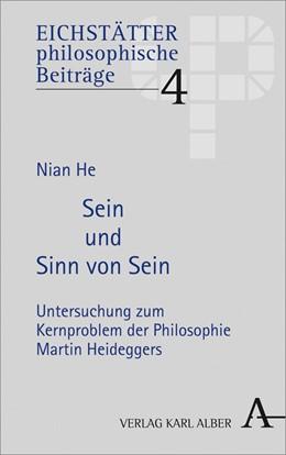 Abbildung von He   Sein und Sinn von Sein   1. Auflage   2020   beck-shop.de