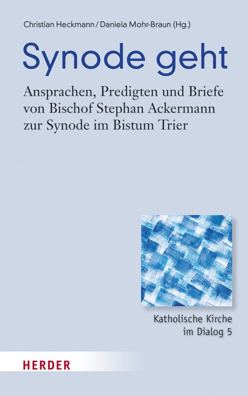 Synode geht | Ackermann / Heckmann / Mohr-Braun, 2017 | Buch (Cover)