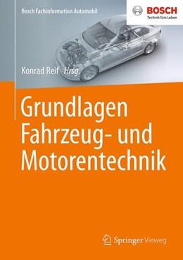 Abbildung von Reif   Grundlagen Fahrzeug- und Motorentechnik   1. Aufl. 2017   2017