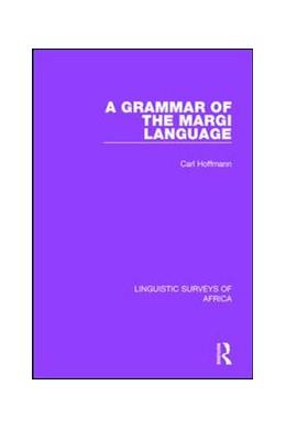 Abbildung von Hoffmann | A Grammar of the Margi Language | 2017 | 2