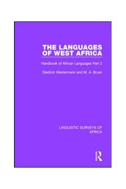 Abbildung von Westermann / Bryan | The Languages of West Africa | 2017 | Handbook of African Languages ... | 14