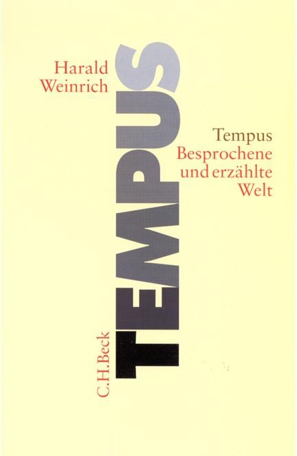 Cover: Harald Weinrich, Tempus