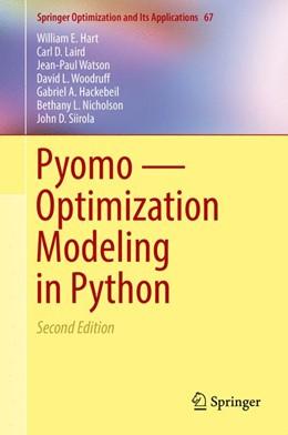 Abbildung von Hart / Laird | Pyomo — Optimization Modeling in Python | 2. Auflage | 2017 | 67 | beck-shop.de