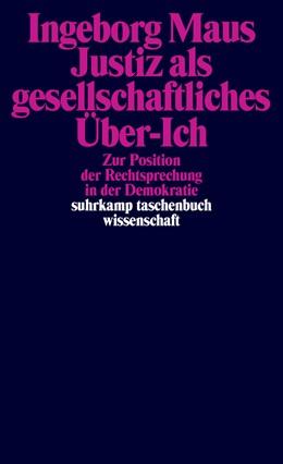 Abbildung von Maus   Justiz als gesellschaftliches Über-Ich   Originalausgabe   2018   Zur Position der Rechtsprechun...