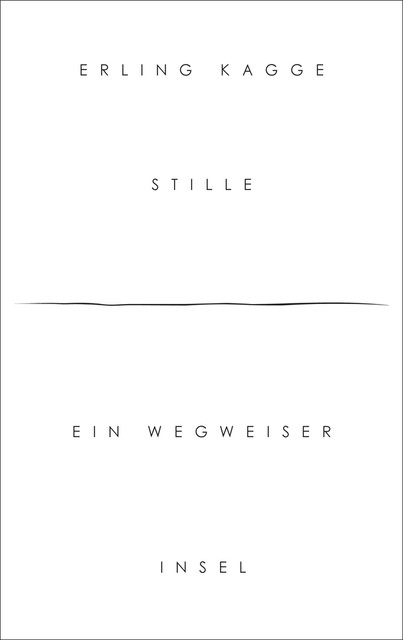 Stille | Kagge, 2017 | Buch (Cover)