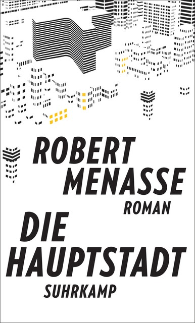Die Hauptstadt   Menasse, 2017   Buch (Cover)