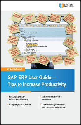 Abbildung von McConnell   SAP ERP User Guide - Tips to Increase Productivity   2016