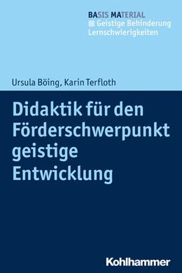 Abbildung von Böing / Terfloth   Didaktik für den Förderschwerpunkt geistige Entwicklung   2020