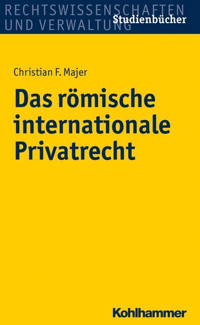 Abbildung von Majer | Das römische internationale Privatrecht | 2017
