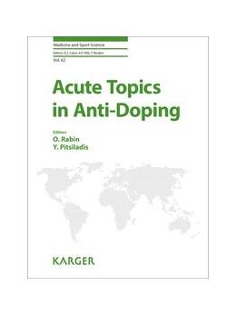 Abbildung von Pitsiladis / Rabin | Acute Topics in Anti-Doping | 1. Auflage | 2017 | beck-shop.de