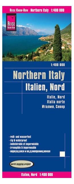 Abbildung von Reise Know-How Landkarte Italien, Nord 1 : 400.000   3. aktualisierte Auflage   2017