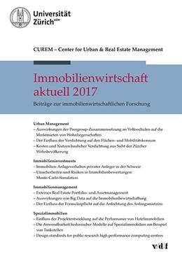 Abbildung von Immobilienwirtschaft aktuell 2017 | 1. Auflage | 2017 | beck-shop.de