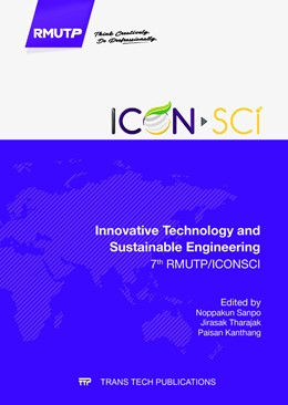 Abbildung von Sanpo / Tharajak / Kanthang | Innovative Technology and Sustainable Engineering | 2017 | 7th RMUTP/ICONSCI | Volume 866
