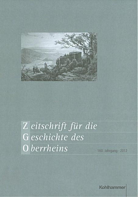 Zeitschrift für die Geschichte des Oberrheins, 2012   Buch (Cover)