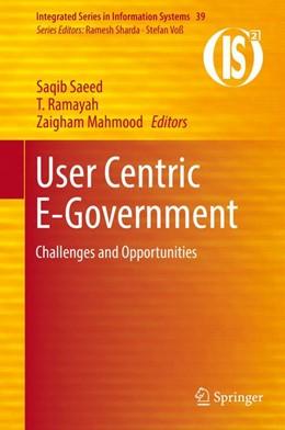 Abbildung von Saeed / Ramayah | User Centric E-Government | 1. Auflage | 2017 | 39 | beck-shop.de