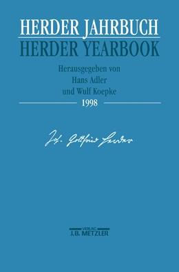 Abbildung von Adler / Köpke   Herder Jahrbuch / Herder Yearbook 1998   1998
