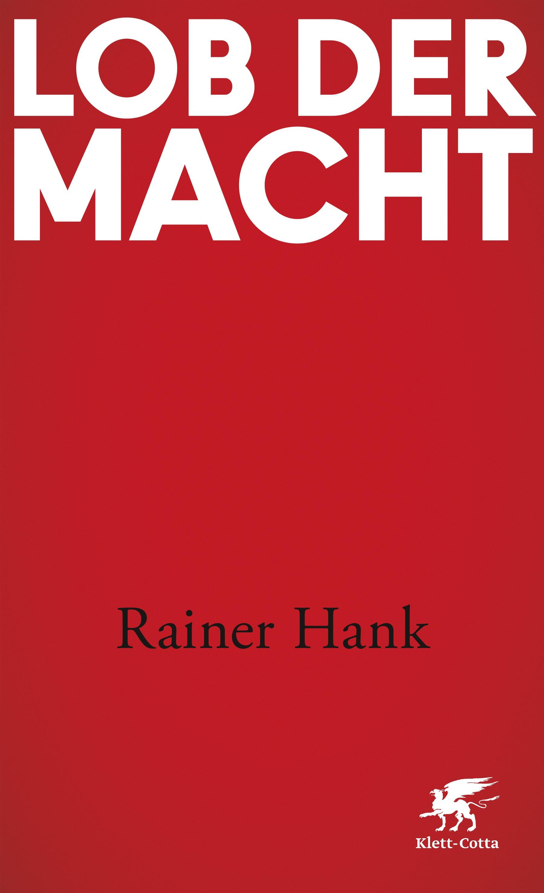Lob der Macht | Hank, 2017 | Buch (Cover)
