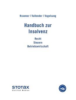 Abbildung von Kraemer / Vallender / Vogelsang   Handbuch zur Insolvenz • Online