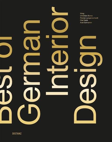 Best of German Interior Design | Boros / Langenscheidt / Salié / Schramm, 2017 | Buch (Cover)