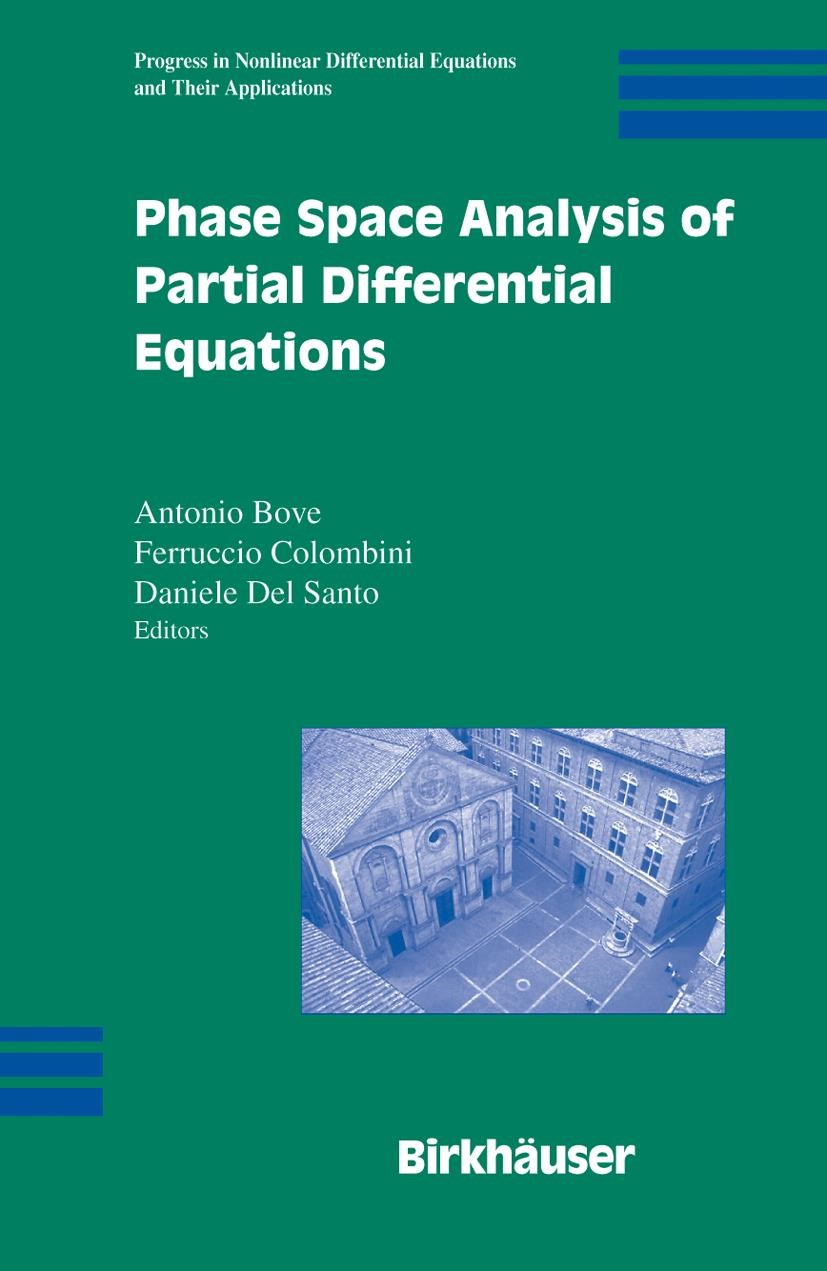 Phase Space Analysis of Partial Differential Equations | Bove / Colombini / Del Santo, 2006 | Buch (Cover)