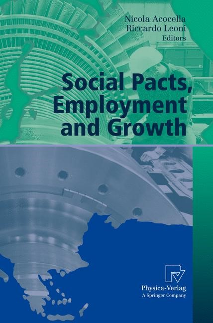 Abbildung von Acocella / Leoni | Social Pacts, Employment and Growth | 2007