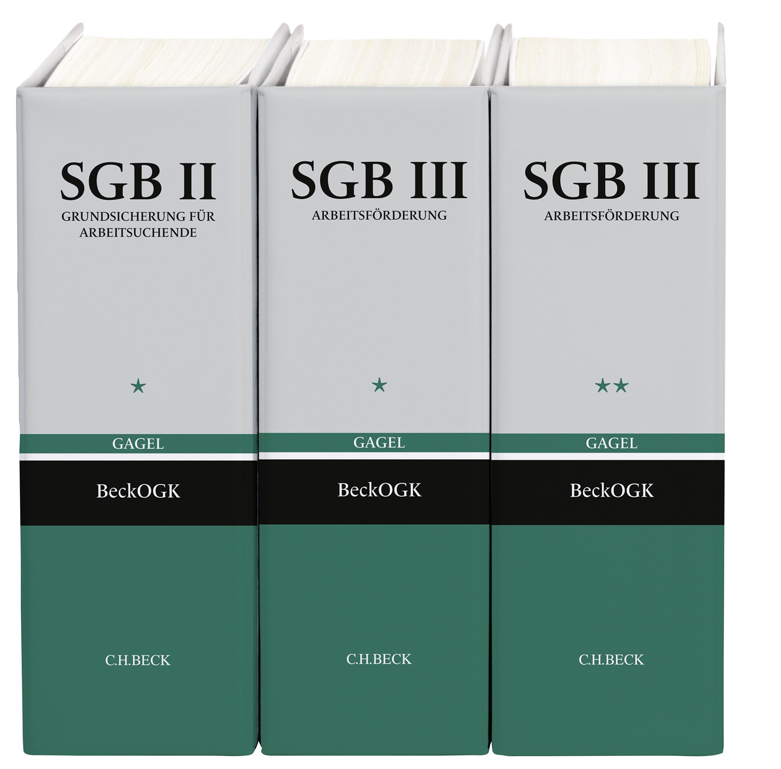 SGB II / SGB III | Gagel | 71. Auflage (Cover)