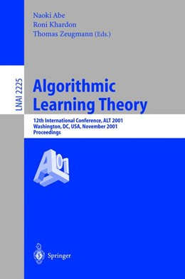 Abbildung von Abe / Khardon / Zeugmann | Algorithmic Learning Theory | 2001 | 12th International Conference,...
