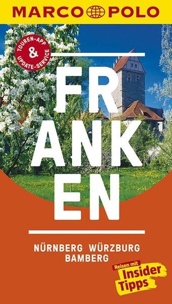 MARCO POLO Reiseführer Franken, Nürnberg, Würzburg, Bamberg | Borucki | 13. Auflage, 2017 | Buch (Cover)