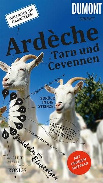 DuMont direkt Reiseführer Ardeche, Tarn und Cevennen | Kalmbach | 1. Auflage, 2017 | Buch (Cover)