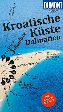 Abbildung von Schetar | DuMont direkt Reiseführer Kroatische Küste Dalmatien | 1. Auflage | 2017 | Mit großem Faltplan