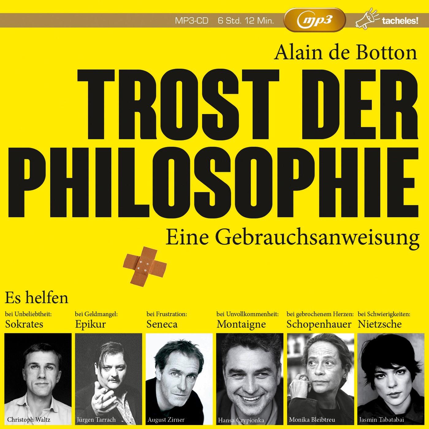 Trost der Philosophie | Botton, 2017 (Cover)