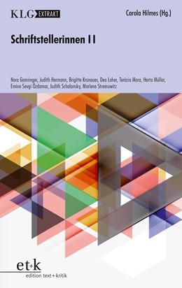 Abbildung von Hilmes | Schriftstellerinnen II | 1. Auflage | 2019 | beck-shop.de