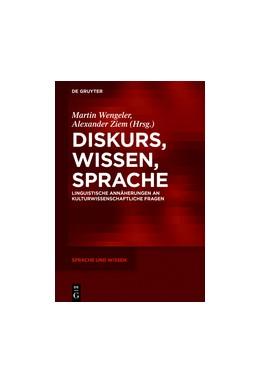 Abbildung von Wengeler / Ziem | Diskurs, Wissen, Sprache | 1. Auflage | 2018 | beck-shop.de