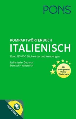 Abbildung von PONS Kompaktwörterbuch Italienisch   2017   Italienisch-Deutsch/Deutsch-It...