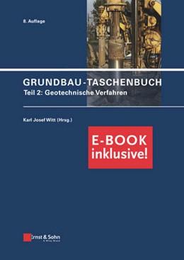 Abbildung von Witt | Grundbau-Taschenbuch Teil 2 (inkl. E-Book als PDF) | 8., vollständig überarbeitete und aktualisierte Auflage | 2018 | Geotechnische Verfahren