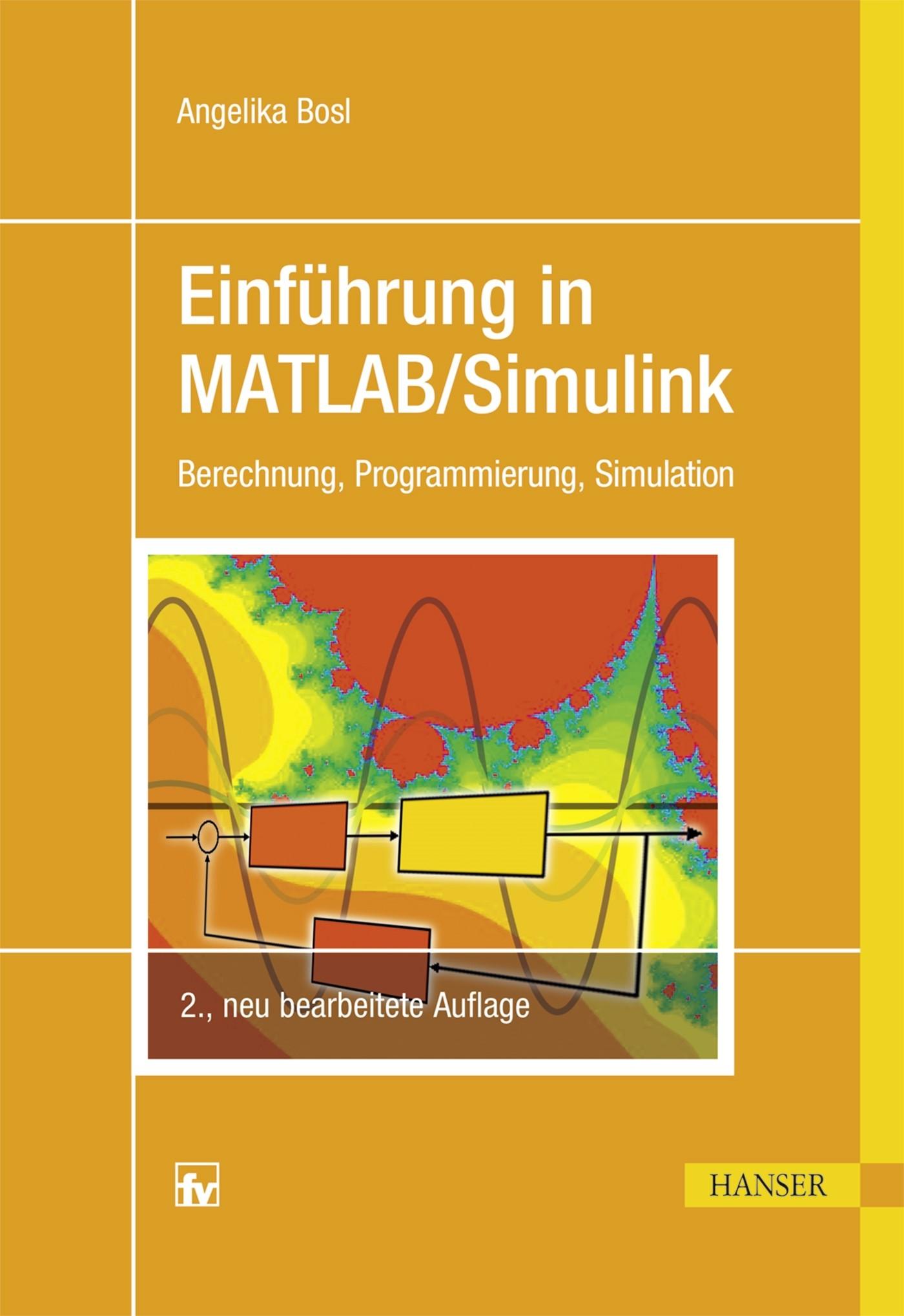 Abbildung von Bosl   Einführung in MATLAB/Simulink   2., neu bearbeitete Auflage   2017