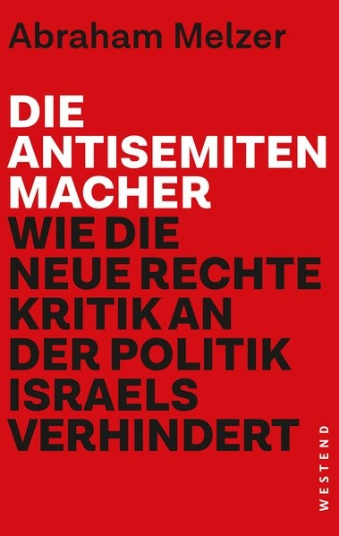 Abbildung von Melzer   Die Antisemitenmacher   2017