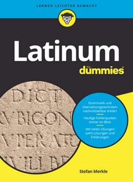 Abbildung von Merkle   Latinum für Dummies   1. Auflage.   2017