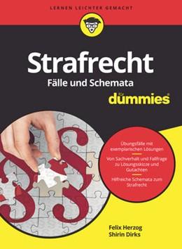 Abbildung von Herzog / Dirks | Strafrecht Fälle und Schemata für Dummies | 2017